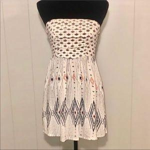 Strapless Roxy Mini Dress